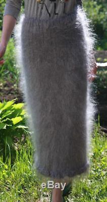 Skirt Longhair 100% Goat Down Mohair Jane Rodas