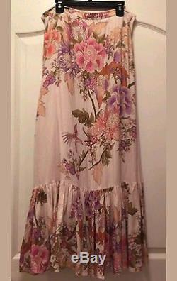 Spell And The Gypsy Blue Skies Split Skirt Size Medium Free People $149