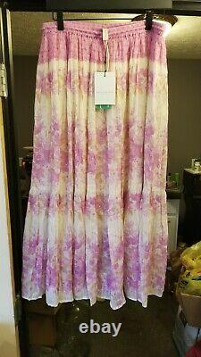 Spell And The Gypsy Collective Coco Lei Skirt lilac XL new