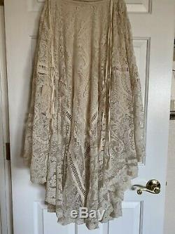 Spell And The Gypsy Collective Rhiannon Cream Skirt NWT M