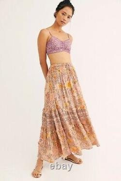 Spell And The Gypsy FP Exclusive Amethyst Skirt In Blush Sz. Small BNWT RARE