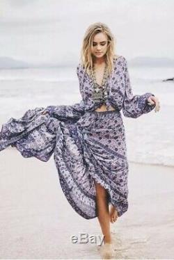 Spell And The Gypsy Kombi Lavender Maxi Skirt Size L