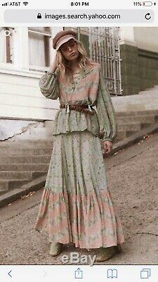 Spell And The Gypsy Sage City Lights Maxi Skirt S