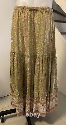 Spell And The Gypsy Size L Dahlia Maxi Skirt