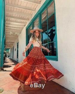 Spell And The Gypsy Tuula Gypsiana Maxi Skirt L Bnwt