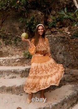 Spell Coco Lei Skirt In Caramel Sz M BNWT (RRP $259)