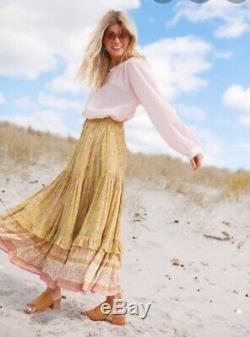 Spell Dahlia Maxi Skirt Sz L BNWT (RRP $249)