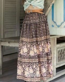 Spell Desert Rose maxi skirt Small EUC will fit to size large