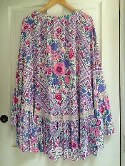 Spell Designs BABUSHKA Maxi Skirt Lavender Size XS