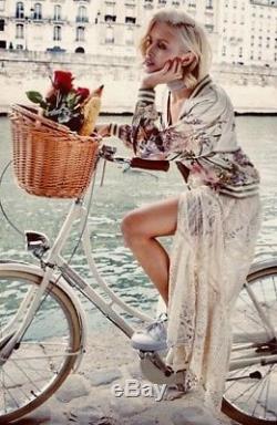 Spell Designs BNWT Sz L Rhiannon Cream Sheer Lace Skirt Half Lined