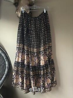 Spell Designs Gypsy Collective Desert Rose Raven Skirt Large