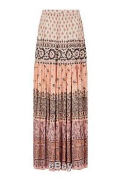 Spell Designs LIONHEART MAXI SKIRT Sundown Size S BRAND NEW