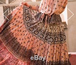 Spell Designs Sz S BNWT Lionheart Maxi Skirt Sundown Elasticised Waist Band