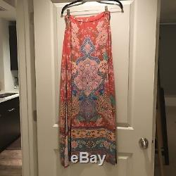 Spell & Gypsy Collective Designs Lotus Ruby Red Maxi/Midi Skirt XS/S