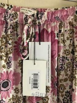 Spell Gypsy Collective Free People Desert Daisy maxi skirt nwt long full Easter