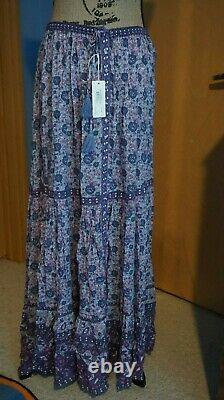 Spell & Gypsy Collective Kombi Button Down Maxi Skirt, Flutter Top, Bloomers NEW