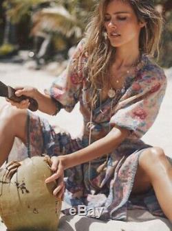 Spell Seashell Maxi Skirt In Opal BNWT (RRP $249)