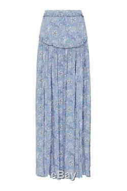 Spell & The Gypsy Celestial Maxi Split Skirt Size S