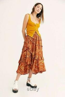 Spell & The Gypsy Collective Designs AURORA FRILL SKIRT S