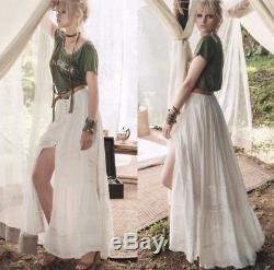 Spell & The Gypsy Collective Designs Medium Sienna Luxe Lace Maxi Skirt