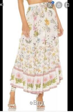 Spell & The Gypsy Collective Wild Bloom Maxi Skirt BNWT Medium