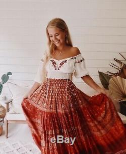 Spell Tuula Gypsiana Maxi Skirt BNWT Sz XXL (RRP $269)