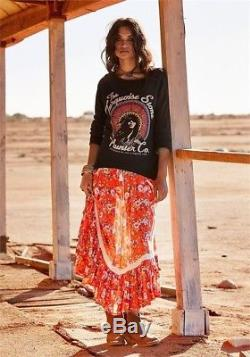 Spell and The Gypsy Collective Revolver Kerchief Maxi Skirt S