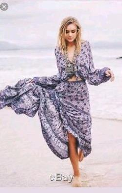 Spell and the Gypsy Collective Kombi Maxi Skirt Lavender Small