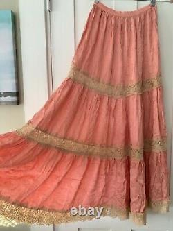 Spell and the Gypsy Free People Exclusive Ocean Maxi Skirt Small BNWT