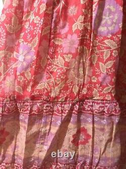 Spell and the Gypsy collective Love Story Maxi Skirt XXL red coral