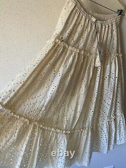 Spell and the gypsy collective Fairy Tale Anglaise Eyelet Skirt Size M