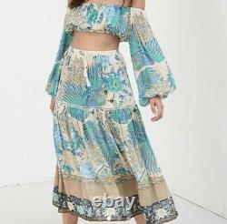 Spell and the gypsy collective cloud dancer maxi skirt size s