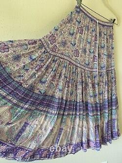 Spell and the gypsy collective poinciana maxi skirt Lilac size s