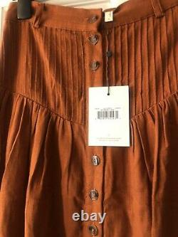 Spell and the gypsy collective rani Maxi Skirt Copper S (m) Bnwt
