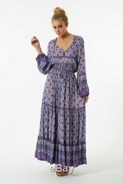 Spell designs Lavender KOMBI Maxi skirt XS