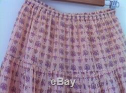 Spell designs vintage RARE desert rose blush maxi skirt XS