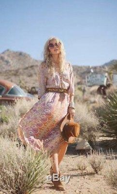 Spell & the Gypsy Collective Blossom Maxi Skirt M Medium 10-12 FREE POST