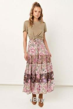 Spell & the Gypsy Collective Desert Daisy Maxi Skirt (Lilac, S)