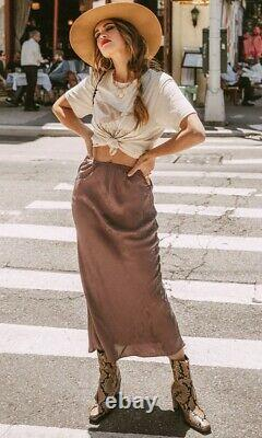 Spell & the Gypsy Collective Designs Rosalie Jacquard Maxi Skirt Sz S