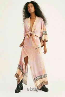 Spell & the Gypsy Collective Free People Cherry Blossom Set Top + Maxi Skirt M
