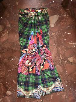 Stella Jean FW 2015/16 Silk Printed Long Skirt, Size IT44, BNWT
