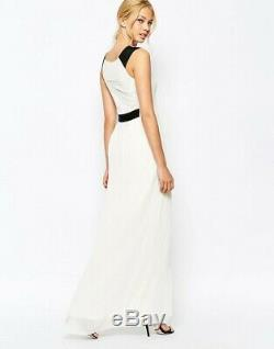 TED BAKER ivory floral lace pleat skirt long maxi dress bridesmaid wedding 2 10