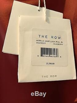 The Row Narelle Hammered Satin Skirt NWT
