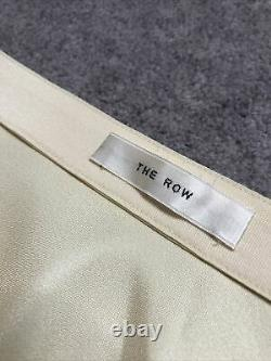 The Row Satin Finish Champagne Long Skirt Size Large L RRP £1000+