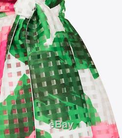 Tory Burch Daniella Garden Party Floral Print Skirt 10 NWT L $895