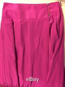 Tory Burch Silk Kathleen Maxi Skirt Size 4
