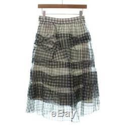 Tricot COMME des GARCONS Skirts 463658 BlackGreyMulticolor S
