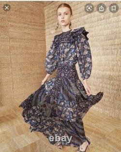 Ulla Johnson Asilia skirt indigo size 4 NWT
