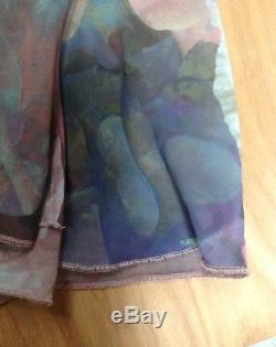 Urban Outfitters We Are Kindred Printed Maxi Skirt Skort XS Very Rare