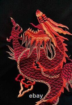 VIVIENNE TAM 90s Vintage Dragon Mesh Maxi Skirt